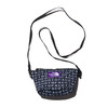 THE NORTH FACE PURPLE LABEL LOGO PRINT MESH POUCH S BLACK NN7924N-K画像