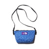 THE NORTH FACE PURPLE LABEL LOGO PRINT MESH POUCH S BLUE NN7924N-BL画像