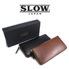 SLOW S0659G round long wallet - Herbie Leather -画像