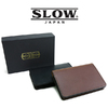 SLOW S0661G card case - Herbie Leather -画像