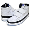 NIKE AIR JORDAN 1 RETRO HI DOUBLE STRAP white/dark concord-black AQ7924-107画像
