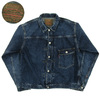 WAREHOUSE Lot 2ND-HAND 2001 DENIM JACKET USED WASH(濃)画像