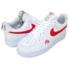 NIKE AIR FORCE 1 LV8 UTILYTY white/university red CW7579-101画像