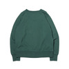 THE NORTH FACE PURPLE LABEL 10oz MOUNTAIN CREW NECK SWEAT GREEN NT6903N画像