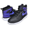 NIKE AIR JORDAN 1 HI REACT black/court purple-black AR5321-005画像