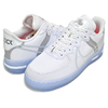 NIKE AIR FORCE 1 REACT QS white/light bone-sail CQ8879-100画像