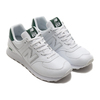new balance ML574SNB WHITE/GREEN画像