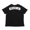 RVCA RVCA MC TEE BLACK BA041251画像