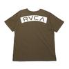 RVCA RVCA MC TEE MOSS GREEN BA041251画像