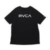 RVCA BIG RVCA TEE BLACK BA041249画像