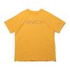 RVCA BIG RVCA TEE GOLD BA041249画像