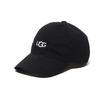 UGG UGG LOGO 6 PANEL CAP BLACK 20SS-UGHA01画像