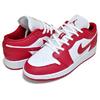 NIKE AIR JORDAN 1 LOW (GS) gym red/gym red-white 553560-611画像
