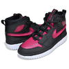 NIKE AIR JORDAN 1 HI REACT black/noble red-white AR5321-006画像