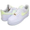 NIKE WMNS AIR FORCE 1 07 white/barely volt-white-wht 315115-155画像