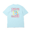 PUMA DOWNTOWN GRAPHIC TEE BUBBLEGUM 597337-18画像