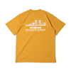 atmos OVERDYED CITY-LINE TEE YELLOW AT20-029画像