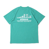 atmos OVERDYED CITY-LINE TEE GREEN AT20-029画像