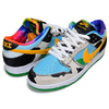 NIKE SB DUNK LOW PRO QS BEN & JERRYS white/university gold CU3244-100画像