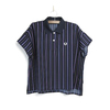 FRED PERRY Lady's #F8562 Striped Shirt画像