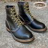 """Wesco 8"""" Horsehide Jobmaster Horween Black Horsehide (Regular Toe)画像"""