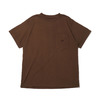 THE NORTH FACE PURPLE LABEL 7OZ H/S POCKET TEE BROWN NT3059N画像