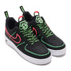 NIKE AIR FORCE 1 '07 PRM WW BLACK/BLACK-FLASH CRIMSON-GREEN STRIKE CK7213-001画像