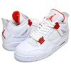 NIKE AIR JORDAN 4 RETRO white/team orange CT8527-118画像