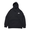THE NORTH FACE SQUARE LOGO HOODIE BLACK NT62039-K画像