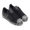adidas SUPERSTAR W CORE BLACK/WHITEGOLD METARIC/FOOTWEAR WHITE FV3448画像