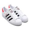 adidas SUPERSTAR 50 RUN DMC FOOTWEAR WHITE/CORE BLACK/HIGHREZ RED FX7616画像