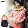 glamb Bicolor vintage hoodie GB0320-CS15画像
