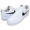 NIKE AIR FORCE 1 07 LV8 white/black CZ7377-100画像