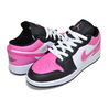 NIKE AIR JORDAN 1 LOW(GS) white/pinksicle-black 554723-106画像