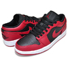 NIKE AIR JORDAN 1 LOW gym red/black-white 553558-606画像