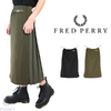 FRED PERRY F8541 Pleated Back Skirt画像