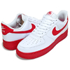 NIKE AIR FORCE 1 07 white/university red-white CK7663-102画像