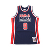 Mitchell & Ness NBA AUTHENTIC JERSEY NAVY USA 92 MICHAEL JORDAN NAVY AJYGS18414-USA画像