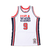 Mitchell & Ness NBA AUTHENTIC JERSEY WHITE USA 92 MICHAEL JORDAN WHITE AJY4AC19089-USA画像