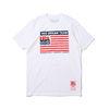 Mitchell & Ness 1992 TEAM USA FLAG TEE WHITE BMTRCW18134-USA画像