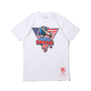 Mitchell & Ness 1992 GLOBAL CHAMPS TEE WHITE BMTRCW18139-USA画像