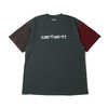 Carhartt S/S CARHARTT TRICOL T-SHIRT Dark Teal I028359-0F200画像