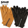 Schott ZIP LEATHER GLOVE 3109075画像