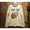 "TOYS McCOY MILITARY LONG SLEEVE TEE ""450th FDS SABRE TIGER"" TMC2051画像"