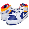NIKE AIR JORDAN 1 MID white/laser orange 554724-131画像