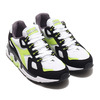 DIADORA MYTHOS SUEDE WHITE/ACID GREEN 176722-2416画像