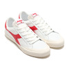 DIADORA MELODY LEATHER DIRTY WHITE/TANGO RED 176360-3653画像