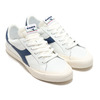 DIADORA MELODY LEATHER DIRTY WHITE/BLUE DARK DENIM 176360-5161画像