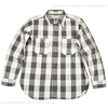 WAREHOUSE Lot 3104 FLANNEL SHIRTS A柄 ONE WASH画像