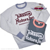 "TOYS McCOY BIG WAFFLE CREW NECK SHIRT ""JOHNSON MOTORS INC."" TMC2058画像"